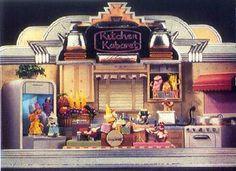 Kitchen Kabaret vintage art   Wdw - Epcot   Pinterest   Disney ...
