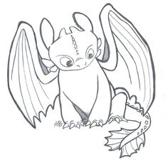 HTTYD: Toothless, the Night Fury by Alexbee1236.deviantart.com on @DeviantArt