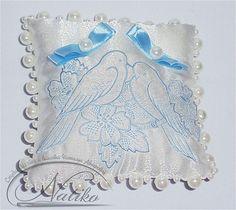Wedding Ceremony Ring Pillow, Wedding pillow, Embroidered pillow, Decorative pillow, best pillow, wedding ring pillow, Ring Bearer Pillow