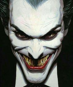 조커 Joker by Alex Ross. Art Du Joker, Le Joker Batman, Joker And Harley Quinn, Joker Comic, Joker Cartoon, The Joker, Black Batman, Comic Book Characters, Comic Character