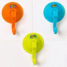 Crayola® Hooks 3 Pack - Orange by Crayola. $8.99. Super easy suction mount for use on any non-porous surface. Perfect for use in or out of the bath. Multiple colors. Suction hooks add instant additional storage for toys, sponges, poufs and more. Comes in three colors (all colors included)!