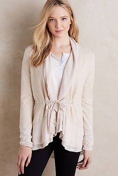 Matanie Cardigan - my hope is this would be sort of shapely or fitted
