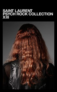 Saint Laurent Psych Rock Collection Photographed by Hedi Slimane
