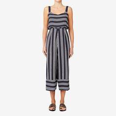 Variegated Stripe Jumpsuit  STRIPE