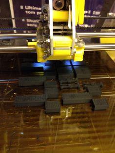 3D-tulostusta ABS:sta ZMorph:lla