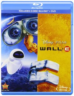 Amazon.com: Wall-E (Three-Disc Blu-ray / DVD Combo): Ben Burtt, Elissa Knight, Jeff Garlin, Fred Willard, Macintalk, John Ratzenberger, Kathy Najimy, Sigourney Weaver, Andrew Stanton, Original Story By Andrew Stanton And Pete Docter, Screenplay By Andrew Stanton And Jim Reardon: Movies & TV