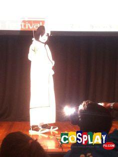 Ulquiorra Shifer Cosplay from Bleach in Mini Animania 2013 AU