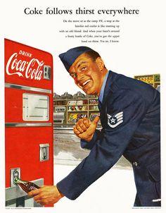 Coca Cola  Coke  Military  Advertising
