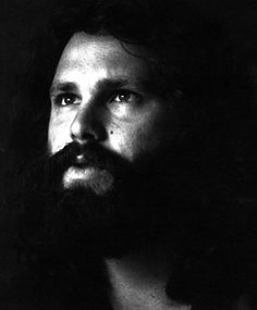 Jim Morrison, wearing his soul on his face (he looks so tired) #jimmorrison #jimmorrisonbeard #thedoors