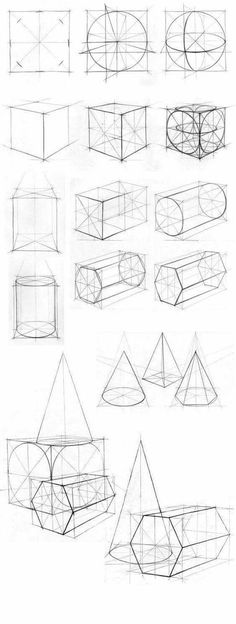 Ideas For Drawing Art Designs Perspective Basic Drawing, Technical Drawing, 3d Drawings, Drawing Sketches, Drawing Tips, Animal Drawings, Drawing Ideas, Academic Drawing, Perspective Art
