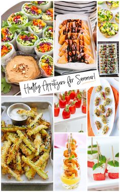 Healthy Summer Appetizers Easy & Delish is part of Best appetizers For Parties - Delicious and healthy appetizers for the summer are perfect for serving up to your friends and family at your next summer party! Healthy Appetizers, Appetizers For Party, Appetizer Recipes, Healthy Snacks, Easy Summer Appetizers, Healthy Soup, Sin Gluten, Party Food For Adults, Crockpot