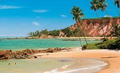 O mar pertinho de casa em Tabatinga, no litoral sul - Paraíba.