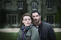 Suranne Jones and Tom Ellis star in The Secret of Crickley Hall, which was filmed at Bowden Hall in Derbyshire.