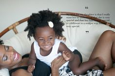 The Natural beauty of a Natural mother and her Natural hair daughter, this is Divine~~~