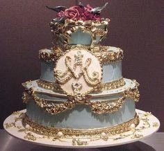 http://may3377.blogspot.com - Marie Antoinette wedding cake