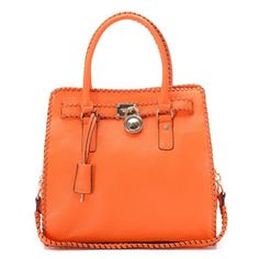 Michael Kors Braided Large Orange Totes Outlet With Cheap Price For You! Michael Kors Hamilton, Cheap Michael Kors, Michael Kors Outlet, Michael Kors Tote, Handbags Michael Kors, Brahmin Handbags, Fashion Heels, Fashion Bags, Womens Fashion