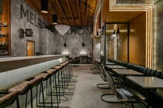 Melrose Station | Bar and Restaurant | Archillusion Design