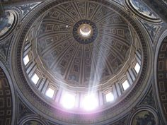 Michelangelo's Dome in St. Peters, Rome, Italy