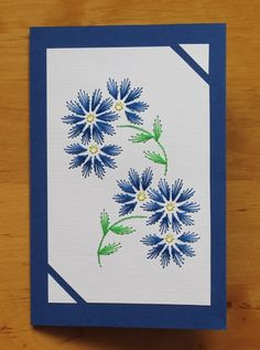 The Latest Trend in Embroidery – Embroidery on Paper - Embroidery Patterns Paper Embroidery Tutorial, Embroidery Cards, Embroidery Patterns Free, Card Patterns, Embroidery Stitches, Flower Embroidery, Paper Art, Paper Crafts, Bordado Floral