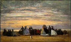 The_Beach_at_Villerville,_Eugène_Boudin,_1864.jpg (3430×2035)