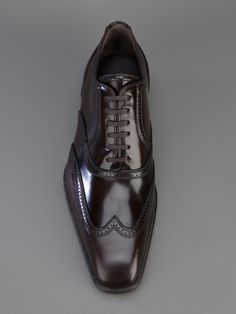 Dsquared2 Brogued Trim Oxford Shoe.