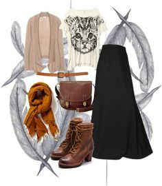 #hijab #chic #brown  casual outgoing