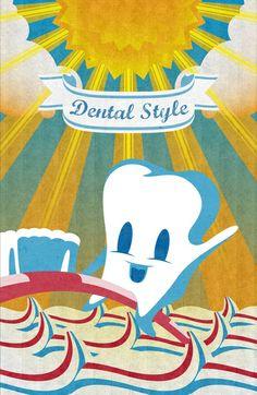 DENTAL STYLE Art Print