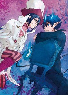 Mephisto Pheles & Rin Okumura - Ao no Exorcist / Blue Exorcist Ao No Exorcist, Blue Exorcist Mephisto, Blue Exorcist Anime, Manga Anime, Fanart Manga, Fanarts Anime, Anime Art, I Love Anime, Awesome Anime
