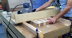 How to: Flatten and Thickness Large Slabs of Wood with a DIY Router Bridge Planer