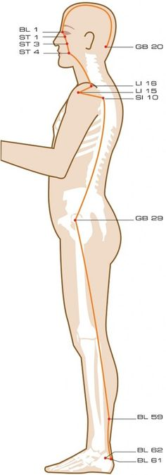 Yang Motility Vessel Acupuncture Points