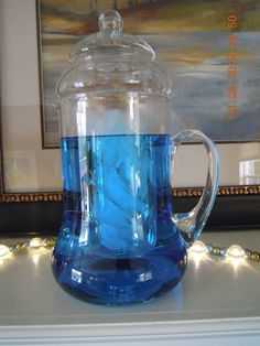 Princess House Heritage Pitcher with lid & Liner 5978835 #candlesandmore #teamsellit   	$49.