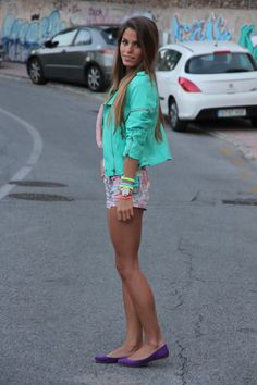 Need this turquoise jacket!