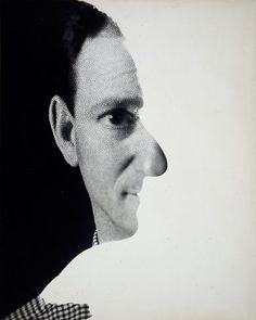 Erwin Blumenfeld - Self-Portrait, New York, 1945