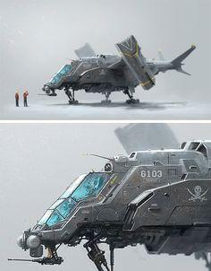 G103 Aircraft by Alex Ichim