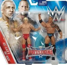 WWE: WrestleMania - Ric Flair and The Rock Action Figure 2-Pack