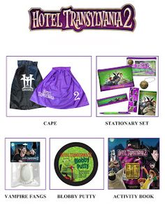 Enter to win a Hotel Transylvania 2 prize package #giveaway ends 10/4/15 #HotelT2