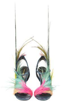 Nicholas Kirkwood Shoes For Victorias Secret Runway Show