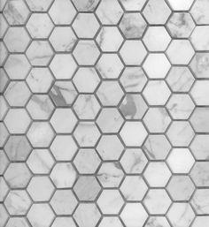 Academy Tiles - Stone Mosaic - Stone Hexagon Mosaics - 73694