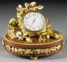 A GILT-BRONZE AND ROUGE DE FRANCE MARBLE TIMEPIECE, PARIS, LATE 19TH CENTURY, FRANÇOIS LINKE 1855 - 1946 AFTER A DESIGN BY LÉON MESSAGÉ | Sotheby's