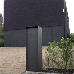 Modern Houses — Ambrosia Design brievenbus.