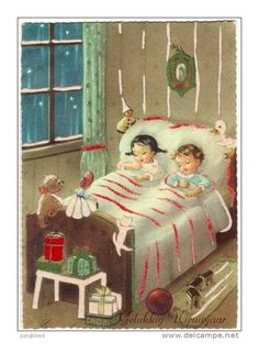 """""""Not a creature was stirring ... Not even a mouse."""" Reminds me of my kids when they were little . . ."""