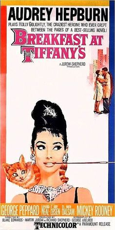 Audrey Hepburn Print of old Movie Film Poster  by BloominLuvly, $7.95