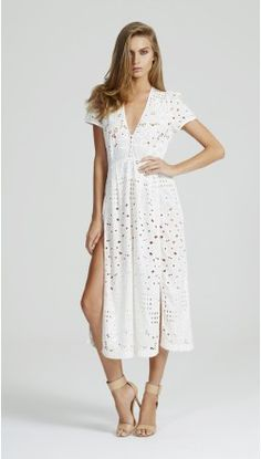 alice McCALL Somebody to Love Dress Seashell