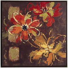 Fleurs d'Automne Wall Art