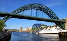 Tyne Bridge is a through arch bridge over the River Tyne in North East England, linking Newcastle upon Tyne and Gateshead