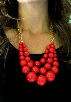 DIY Statement piece necklace