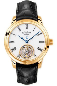 Glashutte Watches - Art and Technik Senator Meissen Tourbillon