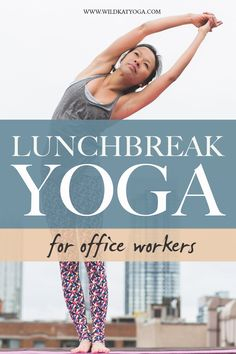 You'll love this class if you want to feel good again after hours hunched up over your computer! Stretch, breath and reset your body and mind with this lunchbreak yoga flow for all levels. #yogainspiration #yogaforbeginners #flexibility My Yoga, Yoga Flow, Yoga Meditation, Yoga Routine, Self Care Routine, Yoga Sequences, Yoga Poses, Wellness Tips, Health And Wellness