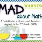 Monsters, Math and Mad Scientists! This pack will be a favorite among the boys!  It has 7 math centers, games and activities $