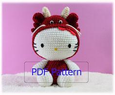 Amigurumi Hello Kitty Schemi : Amigurumi on Pinterest Amigurumi, Free Pattern and ...